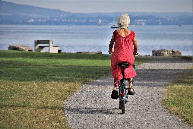 Faire du vélo est bon pour le moral