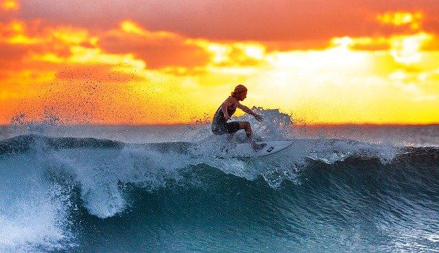 Sport à la mode le surf